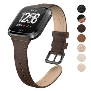 Fitbit Versa Brown Leather Band